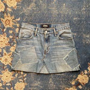 Reformation Redone Levi's Denim Skirt 4